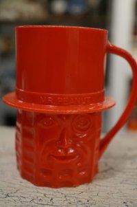 ミスターピーナッツ プラスチックマグカップ レッド