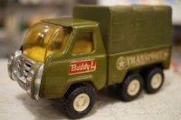 U.S. ARMY TRUCK BUDDY L TRANSPORT