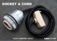 【再入荷】【P.F.S.】 PACIFIC FURNITURE SERVICE SOCKET & CORD パシフィックファニチャーサービス ソケット&コード