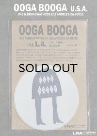 【アメリカ直輸入・日本未発売】LA【Ooga Booga】ウーガブーガ ステッカー