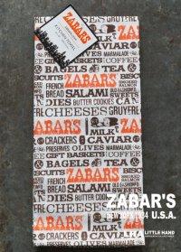 【アメリカ直輸入・日本未発売】NY【ZABAR'S】KITCHEN TOWEL ゼイバーズ キッチンタオル ロゴ