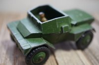 UK DINKY ARMY SCOUT CAR NO.673