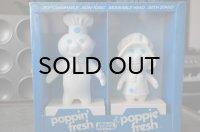 Pillsbury Poppin' & Poppie Fresh  Dough Boy ドゥーボーイ ソフビドール 未開封