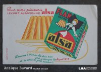 FRANCE antique BUVARD ビュバー alsa 1950-70's