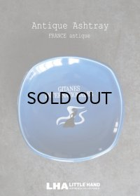 FRANCE antique フランスアンティーク GITANES ジタン 陶器製 灰皿 アシュトレイ フレンチパブ 1960's
