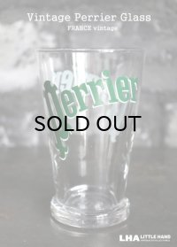 FRANCE vintage PERRIER Glass フランスヴィンテージ ペリエ グラス 1996's