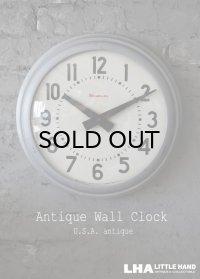 U.S.A. antique SIMPLEX wall clock アメリカアンティーク シンプレックス社製 掛け時計 スクール クロック 38cm 1960's インダストリアル 工業系