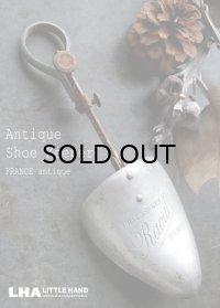 FRANCE antique フランスアンティーク アドバタイジング Paris シューキーパー 靴型 シューツリー 1930-50's