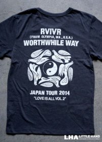 RIVIR(US)・WORTHWHILE WAY Tシャツ