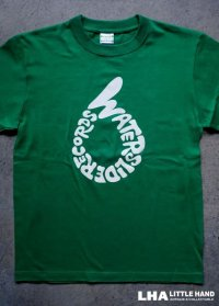 WATERSLIDE RECORDS Tシャツ