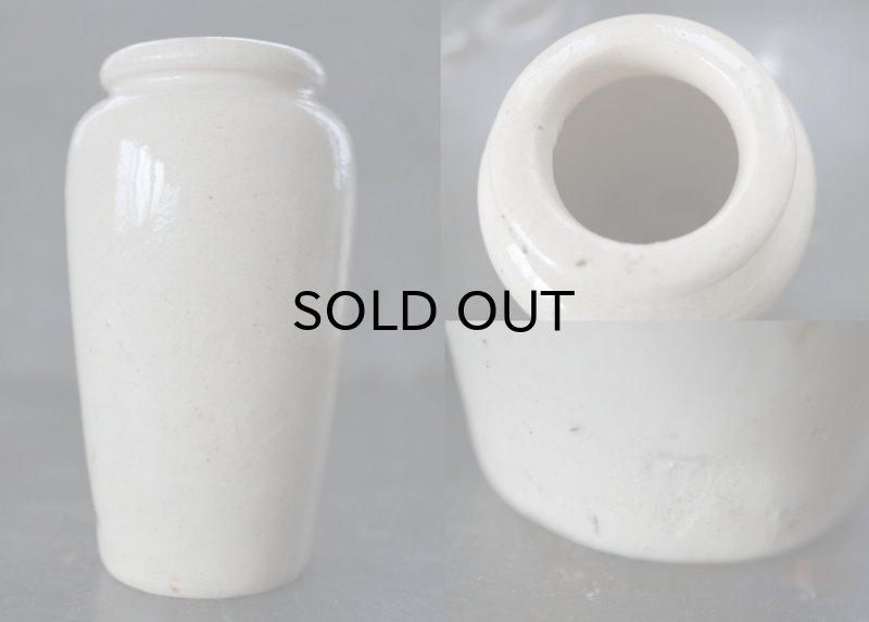 画像4: ENGLAND antique イギリスアンティーク GALLOWAY クリームポット 陶器ポット(L)H12.3cm 陶器ボトル1900's