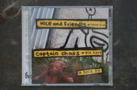 NICE AND FRIENDLY & CAPTAIN CHAOS / Have Fun Die Hard  /  Split  CD