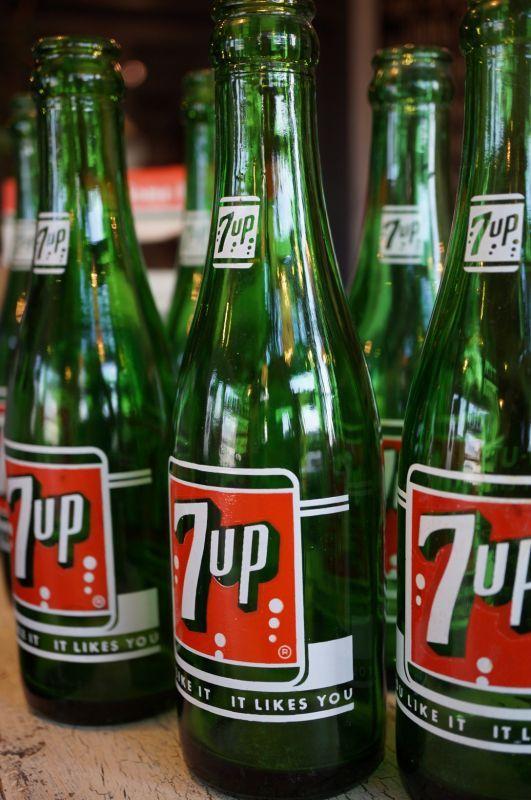 7up セブンアップ ヴィンテージ ボトル
