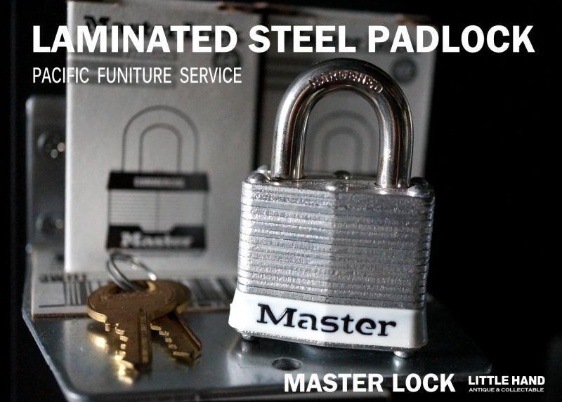 u s a master lock laminated steel padlock master lock little hand antique lha. Black Bedroom Furniture Sets. Home Design Ideas