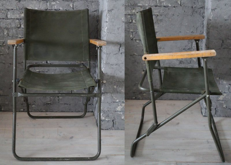 England Antique Rover Army Chair ・folding Chair フォールディング