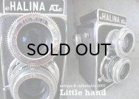 ENGLAND antique  HALINA 二眼レフカメラ 1950's