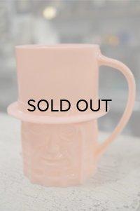 ミスターピーナッツ プラスチックマグカップ ピンク