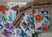 WORLDWIDE antique 世界 USED 使用済み切手 20枚SET 1920-2000's