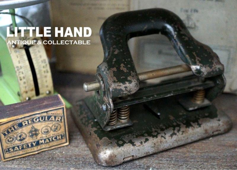 画像2: ENGLAND antique 渋い穴あけパンチ 1930's