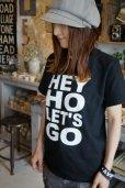 画像5: 【再入荷】LHA 【LITTLE HAND】 ORIGINAL TシャツHEY HO LET'S GO (5)