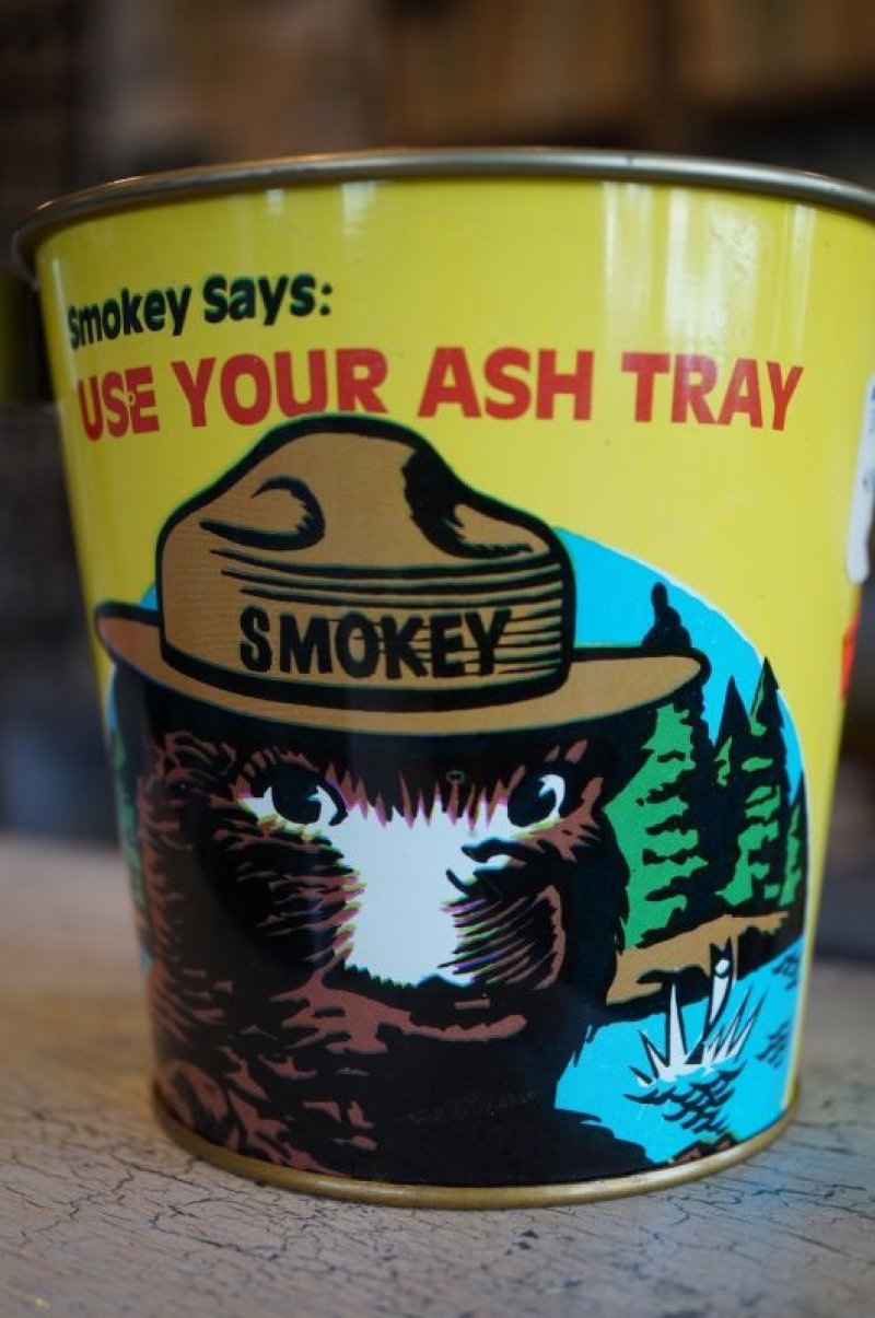画像1: SMOKEY BEAR ASHTRAY 灰皿