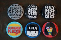 LHA 【LITTLE HAND】 ORIGINAL 缶バッチ A
