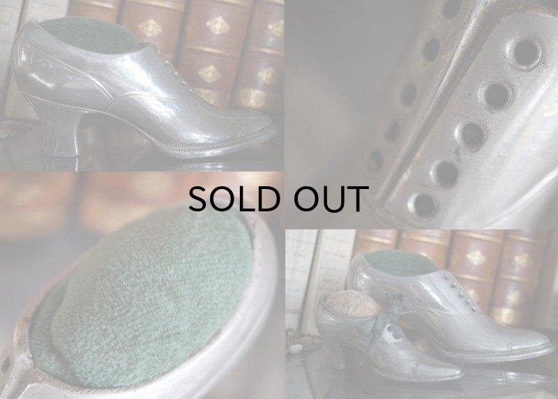 画像3: ENGLAND antique 素敵な靴型 ピンクッション (M) 1890-1900's