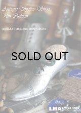 ENGLAND antique 小さな靴型 ピンクッション (SS) 1890-1900's