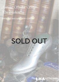 ENGLAND antique 素敵な靴型 ピンクッション (M) 1890-1900's