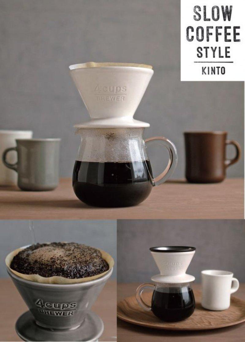 画像4: SALE【30%OFF】SLOW COFFEE STYLE BREWER ブリューワー 4cups グレー
