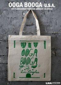 【アメリカ直輸入・日本未発売】LA【Ooga Booga】TOTE BAG ウーガブーガ トートバッグ Green