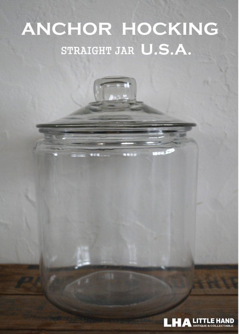 画像1: 【10%OFF】U.S.A. ANCHOR HOCKING アンカーホッキング ストレートジャー [M]