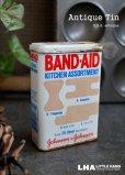 画像2: USA antique ジョンソン&ジョンソン BAND-AID バンドエイド缶 1982's  (2)