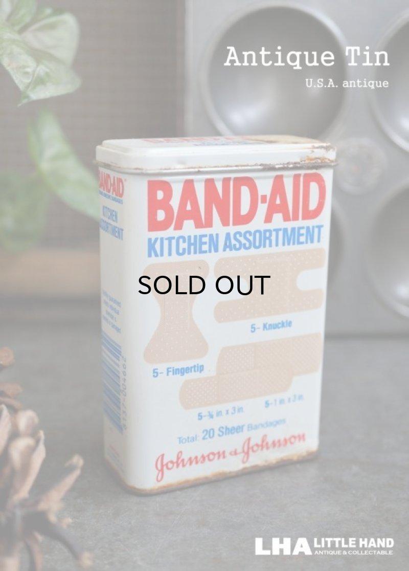 画像2: USA antique ジョンソン&ジョンソン BAND-AID バンドエイド缶 1982's