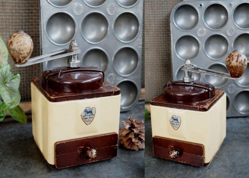 画像2: SALE 【20%OFF】 FRANCE antique PEUGEOT COFFEE MILL プジョー コーヒーミル 【メンテナンス済み】 1952-60's