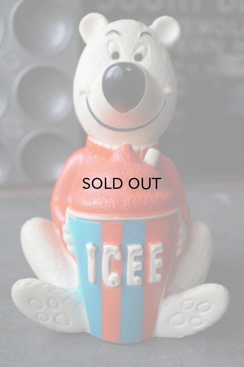 画像1: ICEE BEAR アイシーベアー ソフビ 貯金箱