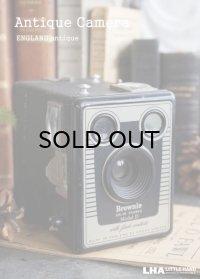 ENGLAND antique KODAK Brownie Six-20 Model D コダック ボックスカメラ ブローニー 1953-57's