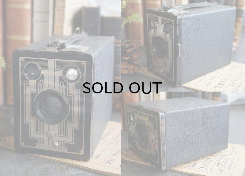 画像3: U.S.A. antique KODAK camera コダック ボックスカメラ 1930-40's