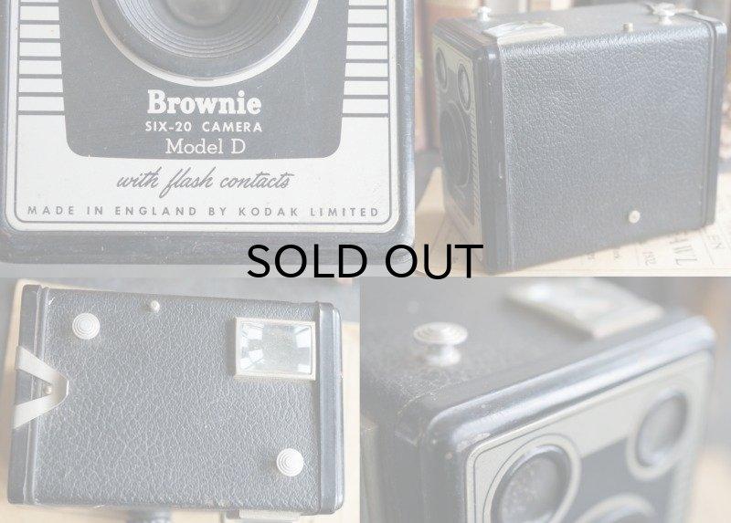 画像4: ENGLAND antique KODAK Brownie Six-20 Model D コダック ボックスカメラ ブローニー 1953-57's