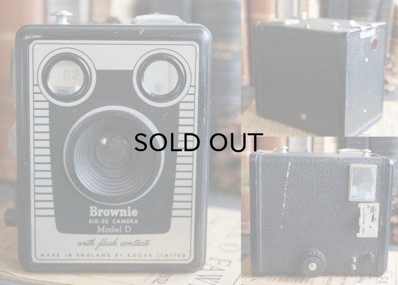 画像2: ENGLAND antique KODAK Brownie Six-20 Model D コダック ボックスカメラ ブローニー 1953-57's