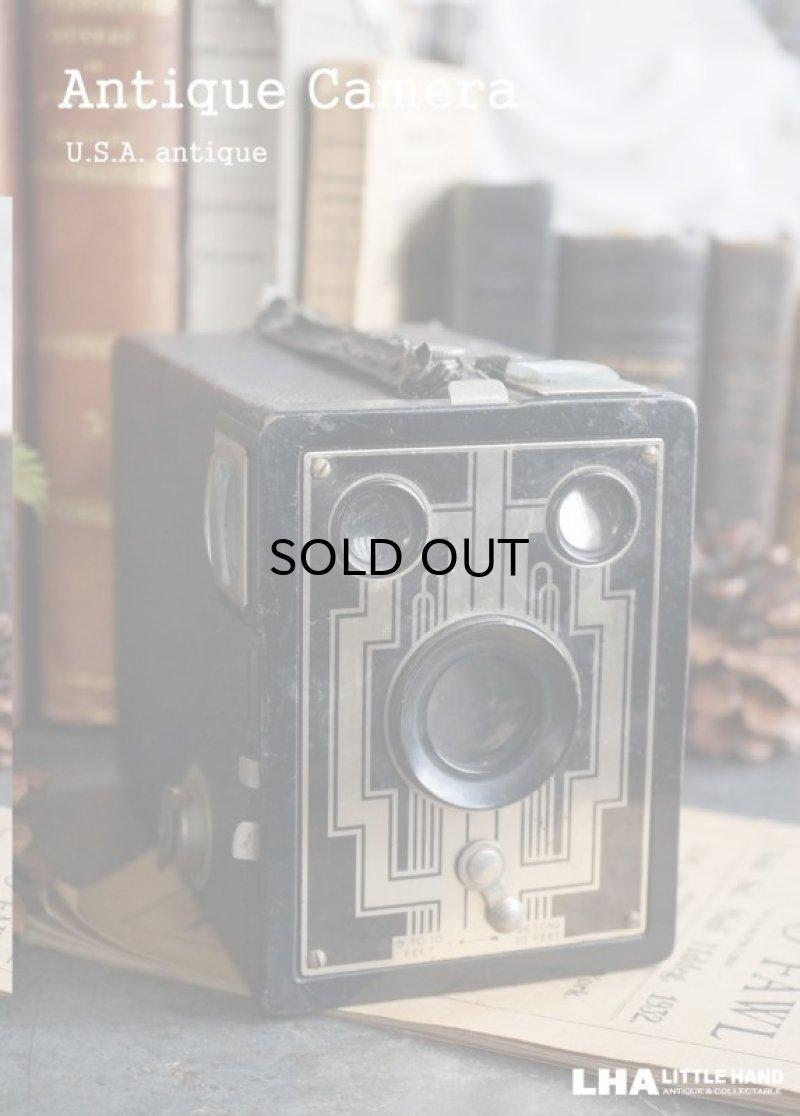 画像1: U.S.A. antique KODAK camera コダック ボックスカメラ 1930-40's