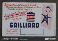 FRANCE antique BUVARD ビュバー GAILLIARD 1950-70's