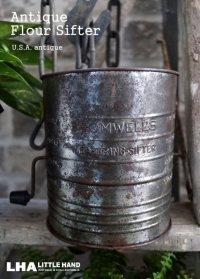 USA antique アンティーク BROMWELL'S フラワーシフター 5CUP 1940-50's