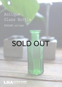ENGLAND antique イギリスアンティーク NOT TO BE TAKEN ガラスボトル[1/2oz] H6.8cm ガラス瓶 1900-20's