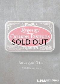 ENGLAND antique イギリスアンティーク Boots CATARRH PASTILLES ティン缶 ブリキ缶 1920-30's