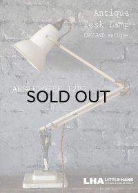 【RARE】ENGLAND antique ANGLEPOISE 1227 Lamp イギリスアンティーク アングルポイズ 1227 初期・前期型 デスクランプ 1935's