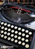 画像1: U.S.A. antique Remmington Typewriter アメリカアンティーク レミントン タイプライター ケース付き 1920-30's (1)