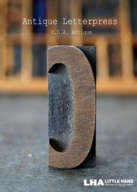 U.S.A. antique アメリカアンティーク 木製プリンターブロック【C】 H5cm スタンプ はんこ 数字 1900-40's