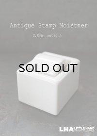USA antique アメリカアンティーク SENGBUSCH社製 IDEAL JUNIOR 陶器製 スタンプモイスチャー 1940-60's