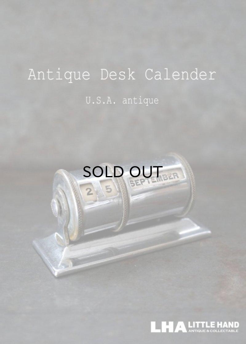 画像1: USA antique アメリカアンティーク デスクカレンダー 1950-70's 卓上カレンダー 暦